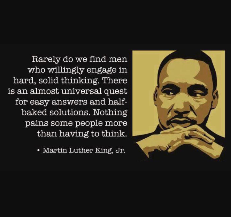 Happy Birthday Mlk Do We Strive For Greatness As Mlk Did